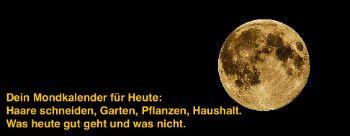 Mondkalender heute