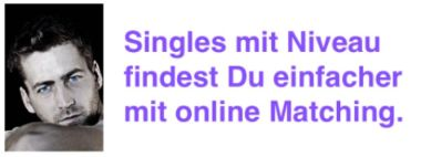 Single mit Niveau