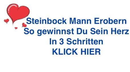 Steinbock Mann verliebt